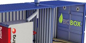 Biomasa contenedorizada, solución de integración de biomasa cuando falta espacio
