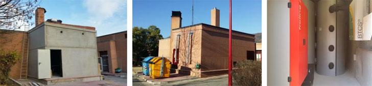Imágenes del inicio y fin del contenedor prefabricado de obra Biobox.