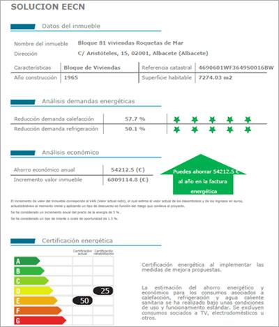 Informe adicional con información complementaria