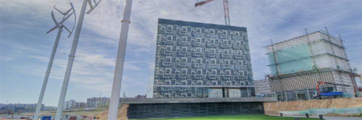 Vista general del edificio CIEM de Zaragoza