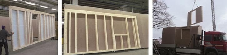 Importancia del diseño higrotérmico en las envolventes de entramado ligero de madera para edificios nZEB- proceso de construcción con entramado ligero mediante elementos semiprefabricados.