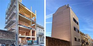 El edificio más alto de madera de Barcelona, sostenible, saludable y eficiente con criterios EECN