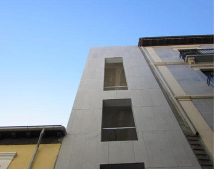 Fachada Principal de la edificación resultante