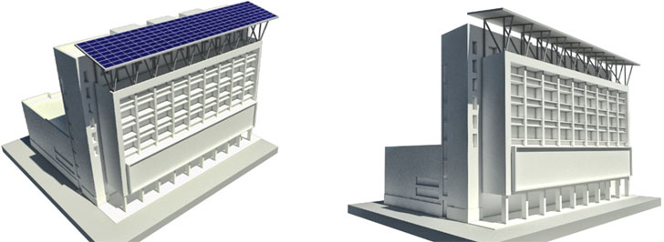 Diseño de la estructura de soporte para el sistema fotovoltaico