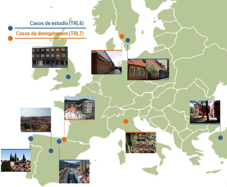 Localización de los casos de uso y demostración de OptEEmAL