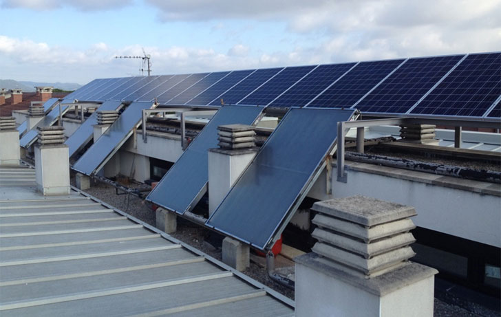 Energía solar, térmica y fotovoltaica