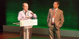 M.Sánchez, Energy Manager; y C.J.García, USJ – III Congreso EECN