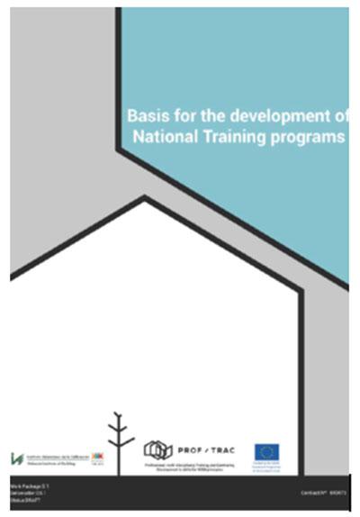 bases para el desarrollo de programas de formación nacional