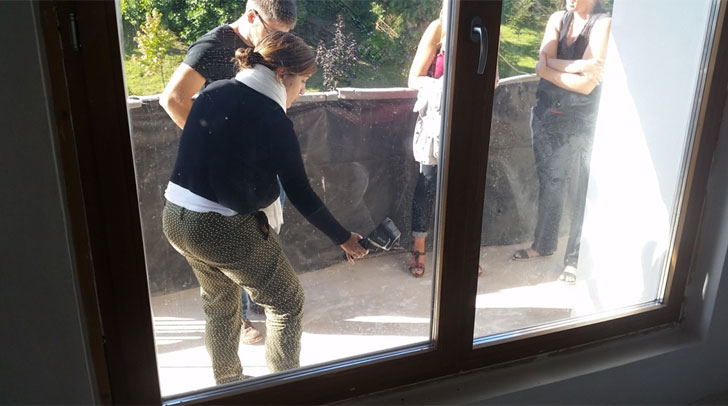 Inspección termográfica de los marcos de ventana