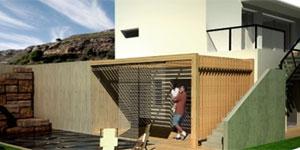 Construcción de EECN mediante sistema semi-prefabricado de paneles aislantes de viruta de madera reciclada aglomerada. Ejemplo real y resultado