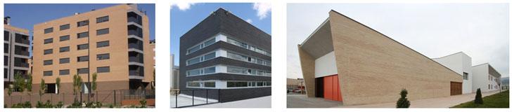 Ejemplos de obras realizadas con Structura.