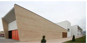 Structura, solución de fachada de ladrillo cara vista para Edificios de Consumo de Energía Casi Nulo