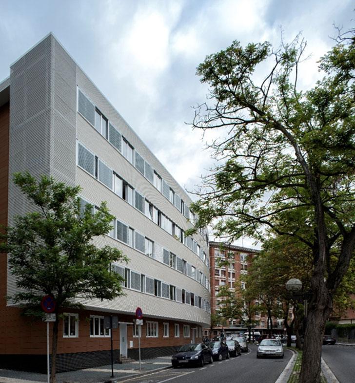 Estado edificio rehabilitado.