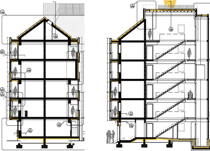 Sección constructiva proyecto.