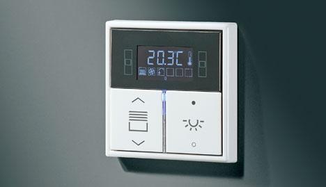 Controlador de estancias compacto KNX