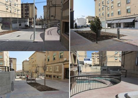 Proyecto de reurbanización del espacio urbano Tudela