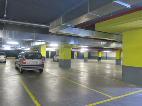 Makro Paseo Imperial, Madrid. Parking