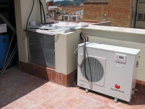 Bomba de calor aire-agua Saunier Duval
