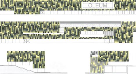 Alzados, Centro de interpretación de la cultura del olivo y la sostenibilidad