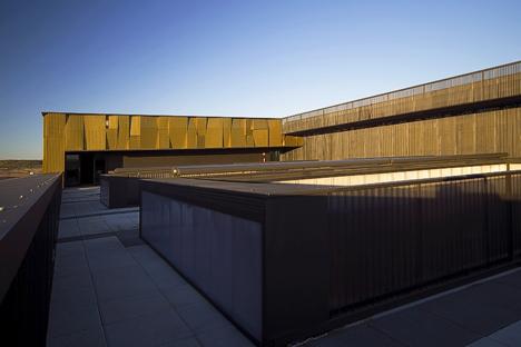 El Centro de interpretación de la cultura del olivo y la sostenibilidad, cubierta