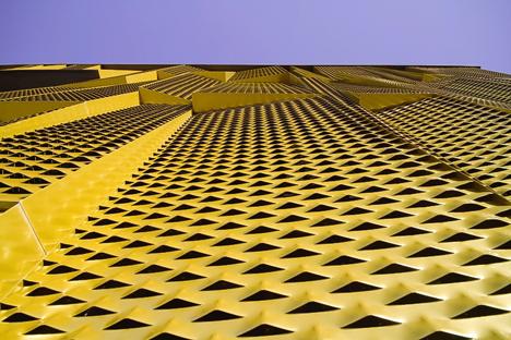 Detalle fachada, Centro de interpretación de la cultura del olivo y la sostenibilidad