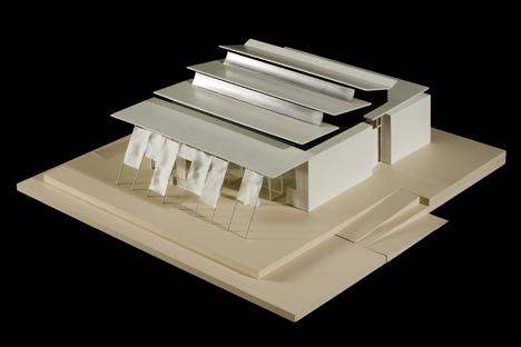 Casa solar Sumbiosi, maqueta
