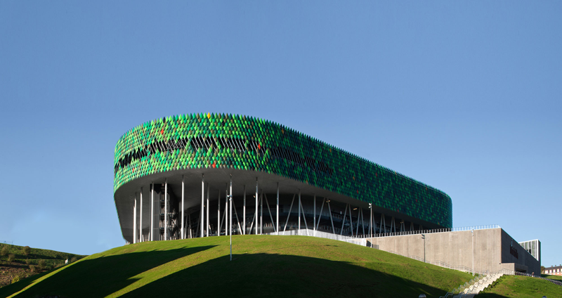 Edificio Bilbao arena