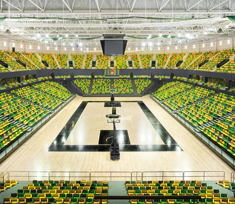 pista central del Bilbao Arena