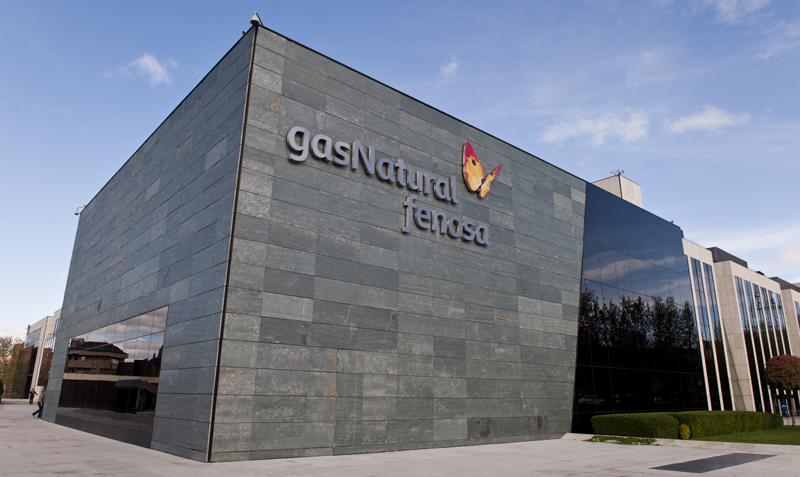 Edificio de Gas Natural Fenosa en Madrid