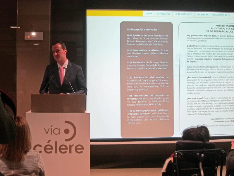 Jorge Jiménez de Cisneros Bailly-Baillière, director general de atención a personas con discapacidad de la Comunidad de Madrid