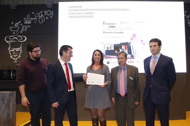 """Carolina Serrano ha ganado el concurso """"Cocinas Bellas y Funcionales para el Mundo de la Discapacidad""""."""