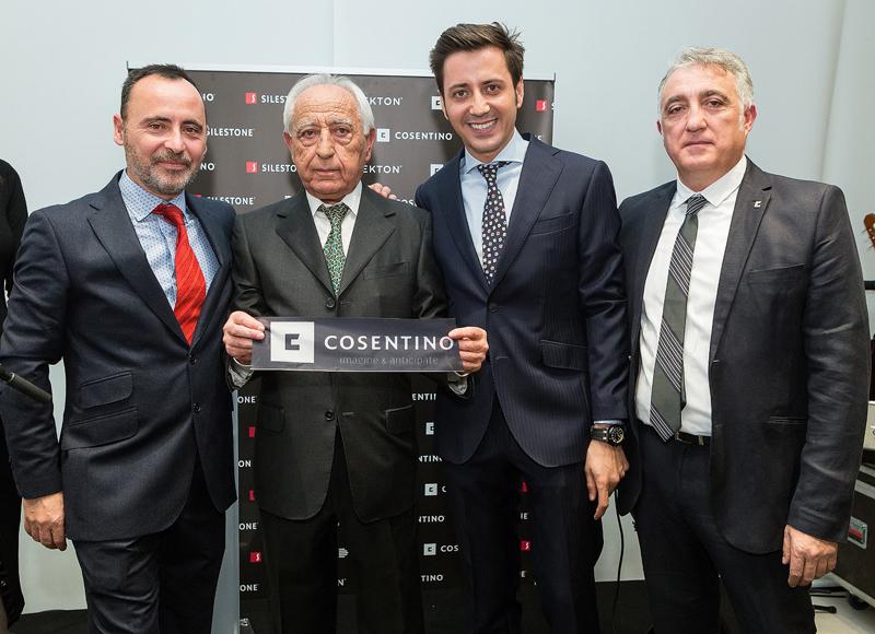 Madrid ha acogido el primer Cosentino City de España.