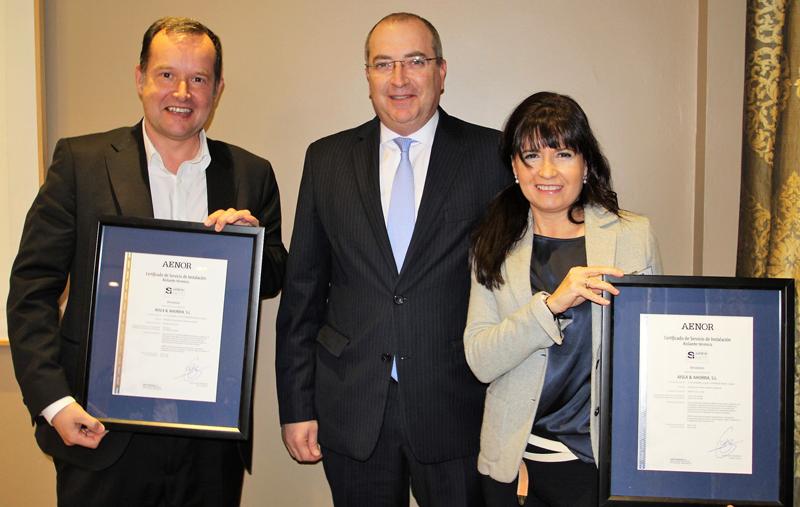 AENOR ha otorgado aAísla & Ahorra el certificado de aislamiento de celulosa y lana mineral.