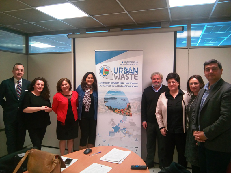 En el proyecto europeo Urban-Waste participan 27 socios.