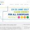 Bruselas acogerá en Junio la Semana de la Energía Sostenible de la Unión Europea