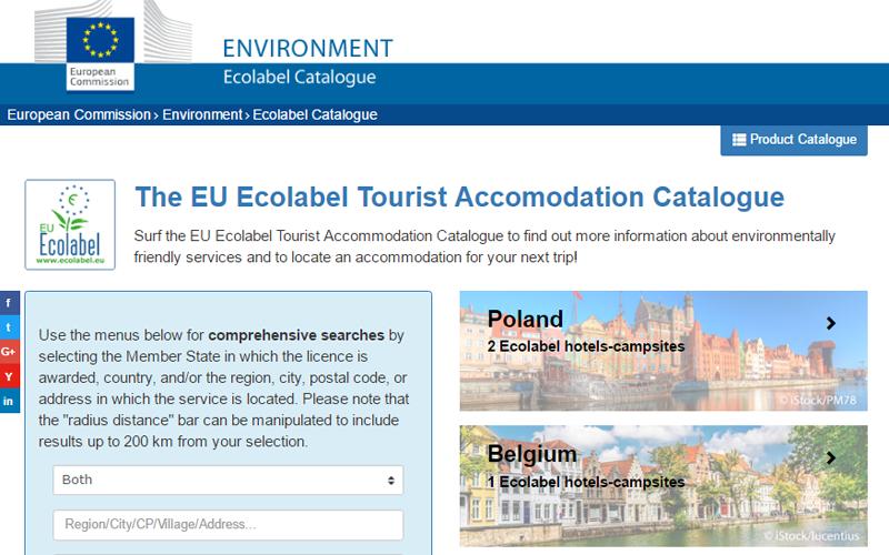 La UE ha publicado los nuevos criterios sobre la etiqueta ecológica de alojamientos turísticos y de revestimientos.