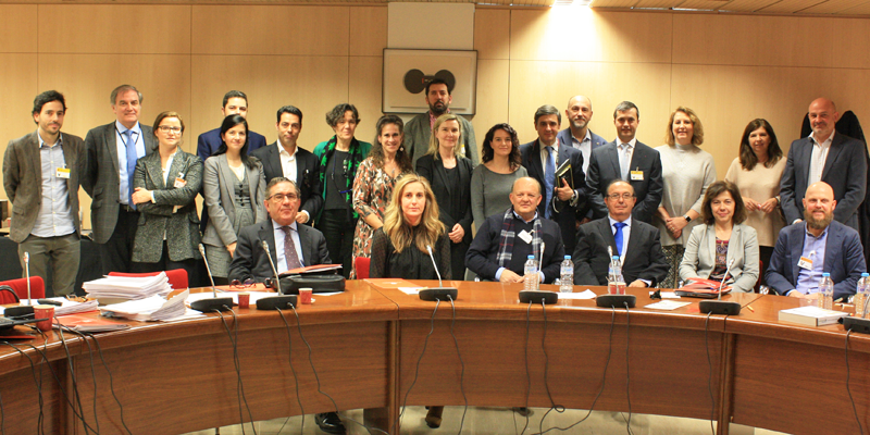 Segunda Reunión del Comité Técnico III Congreso Ciudades Inteligentes en SESIAD.