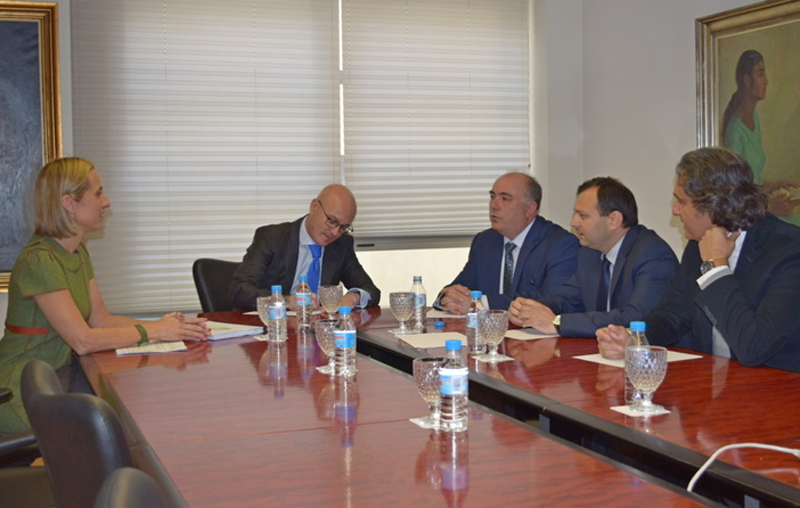 Juan Hernández se ha reunido con diferentes representantes de Asociaciones.