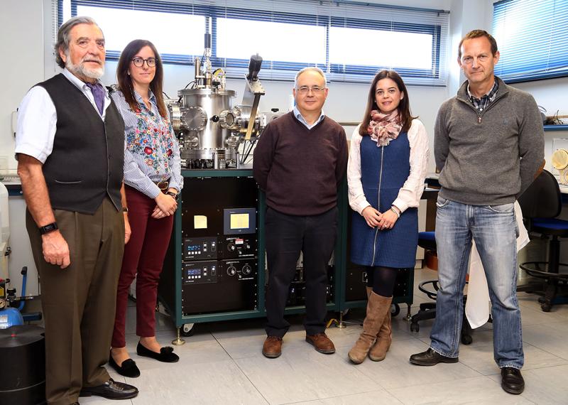 Los investigadores de la Universidad de Málaga han creado los dispositivos nanoestructurados.