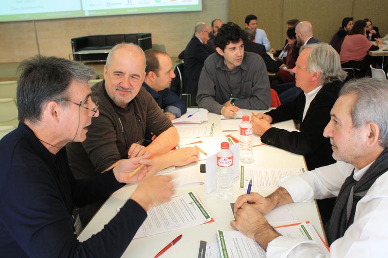 Participantes en la Mesa de Trabajo 1 del VII Workshop EECN.