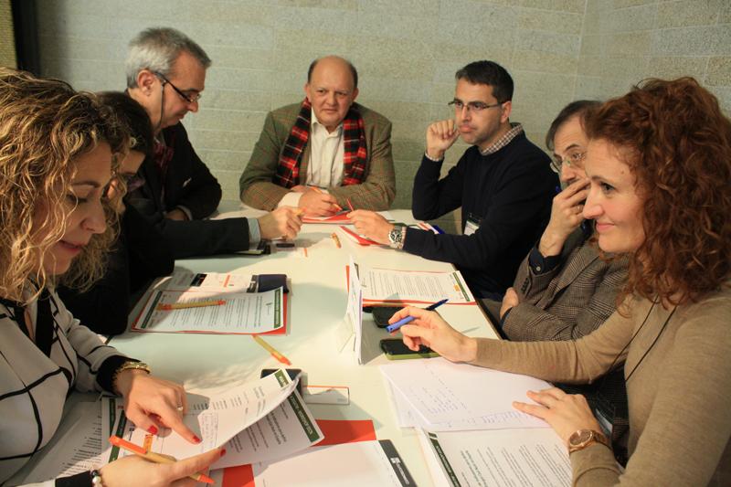 Participantes en la Mesa de Trabajo 8 del VII Workshop EECN.