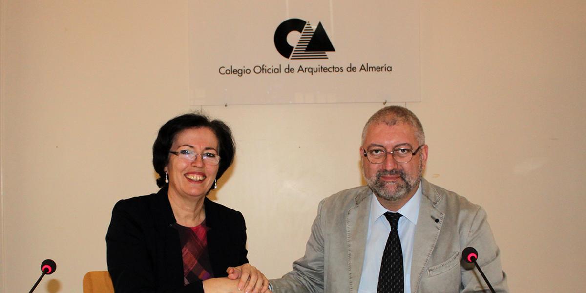 Acuerdo entre pita y coa almer a para promover acciones de - Colegio arquitectos almeria ...
