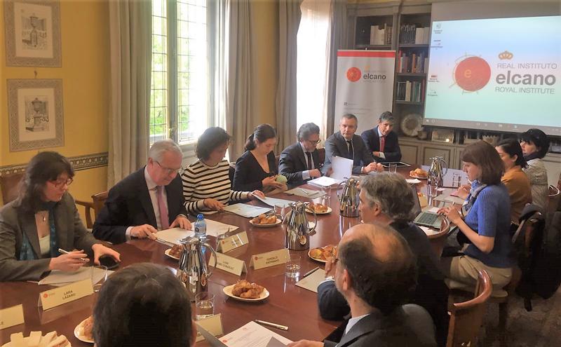 Jornada de debate organizada por el Real Instituto Elcano.