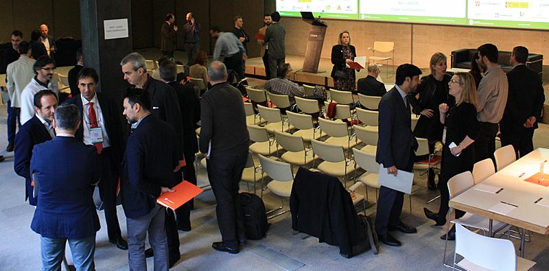 Momentos previos de networking al inicio del VII Workshop EECN.