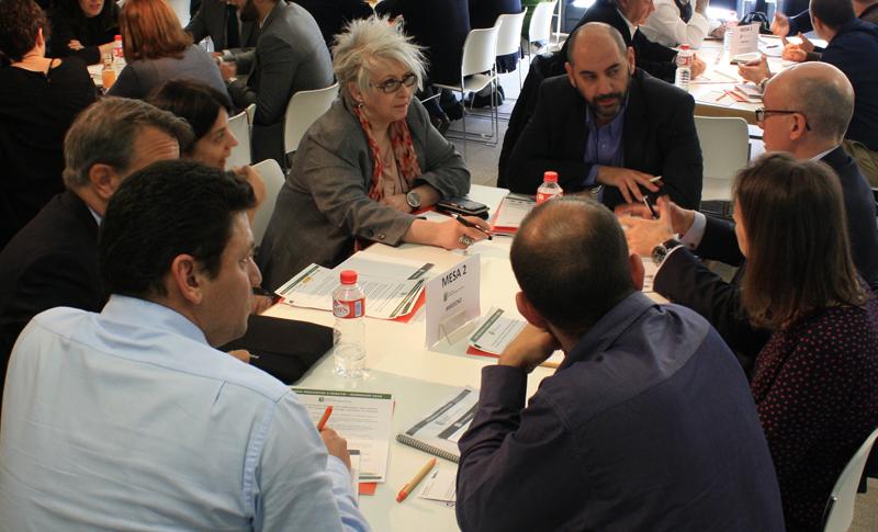Participantes en la Mesa de Trabajo 2 del VII Workshop EECN.