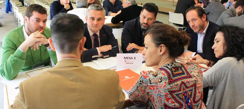 Participantes en la Mesa de Trabajo 3 del VII Workshop EECN.