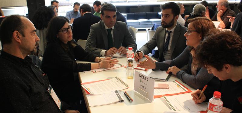 Participantes en la Mesa de Trabajo 4 del VII Workshop EECN.