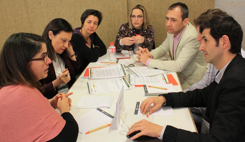 Participantes en la Mesa de Trabajo 5 del VII Workshop EECN.