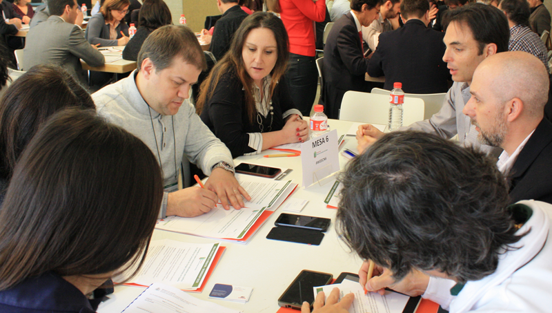 Participantes en la Mesa de Trabajo 6 del VII Workshop EECN.