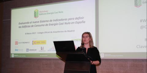 Ponencia Inés Leal, Directora Congreso Edificios Energía Casi Nula, en el VII Workshop EECN